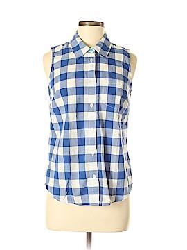 Boden Sleeveless Button-Down Shirt Size 8