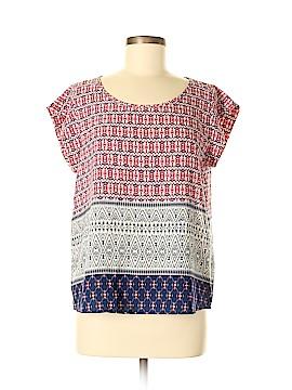 Renee C. Short Sleeve Blouse Size M