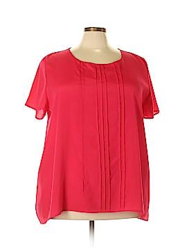 Pure Energy Short Sleeve Blouse Size 4X (Plus)