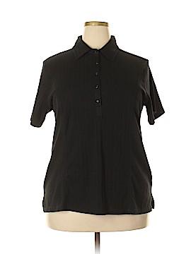 Erika Short Sleeve Polo Size 1X (Plus)
