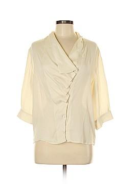 Aryn K. 3/4 Sleeve Blouse Size M
