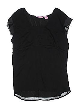 Girl Krazy Short Sleeve Blouse Size 2X (Plus)