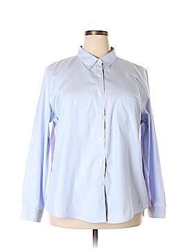 L.L.Bean Long Sleeve Button-Down Shirt Size 2X (Plus)