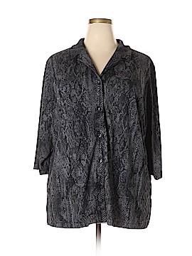 Venezia 3/4 Sleeve Blouse Size 22 (Plus)