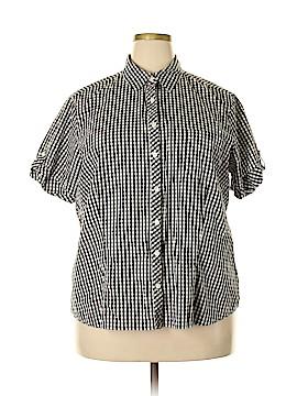 High Sierra Short Sleeve Button-Down Shirt Size 2X (Plus)