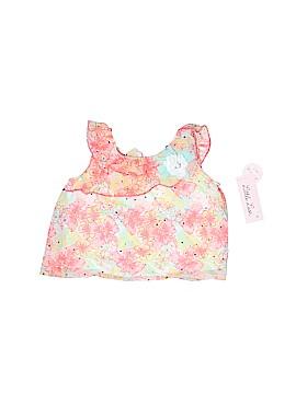 Little Lass Short Sleeve Blouse Size 2T