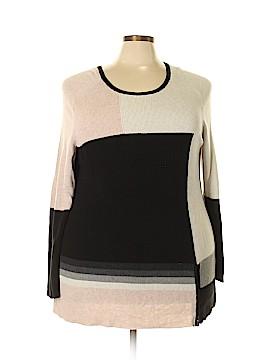 Nic + Zoe Pullover Sweater Size 2X (Plus)