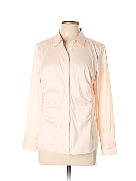 Ann Taylor Long Sleeve Button-Down Shirt Size 16 (Petite)