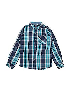 Lucky Brand Long Sleeve Button-Down Shirt Size 7