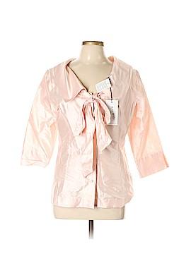 Sara Campbell 3/4 Sleeve Silk Top Size 12