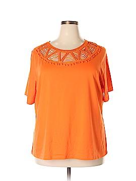 Rebecca Malone Short Sleeve Top Size 2X (Plus)