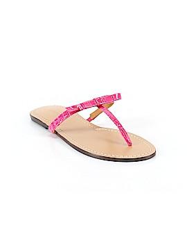 Ann Taylor Flip Flops Size 9