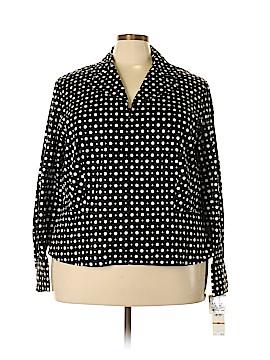 Jones New York Long Sleeve Blouse Size 3X (Plus)