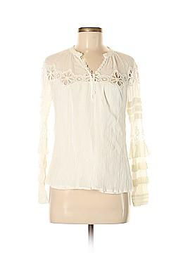 Rebecca Taylor Long Sleeve Blouse Size 6