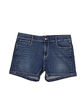 White House Black Market Denim Shorts Size 14