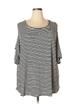Ava & Viv Short Sleeve Top Size 3X (Plus)