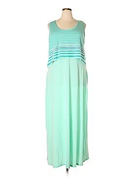 Allison Brittney Casual Dress Size 2X (Plus)