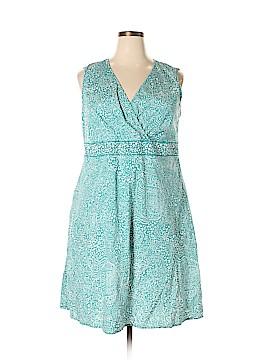 Croft & Barrow Casual Dress Size 2X (Plus)