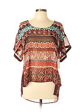 19 Cooper Short Sleeve Blouse Size L