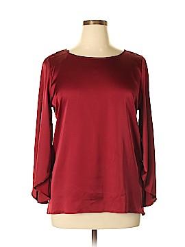 Preston & York 3/4 Sleeve Blouse Size L
