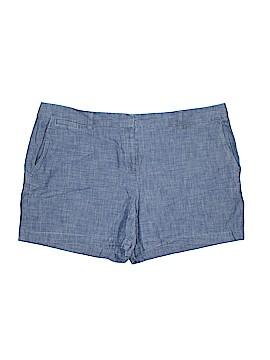 Lands' End Denim Shorts Size 18 (Plus)