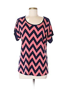 Carol Rose Short Sleeve Top Size M