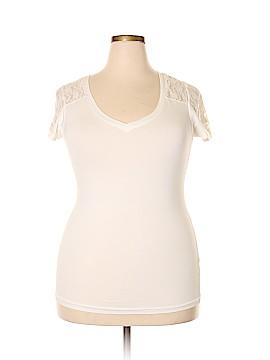 Splash Short Sleeve Top Size 2X (Plus)