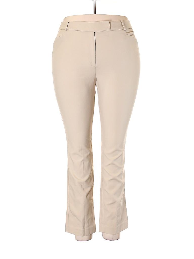 Talbots Women Khakis Size 18 (Plus)