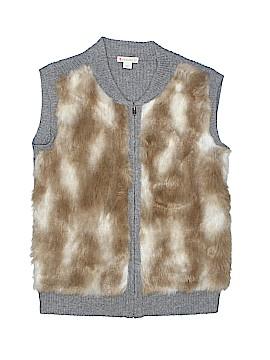 Crewcuts Faux Fur Vest Size 12