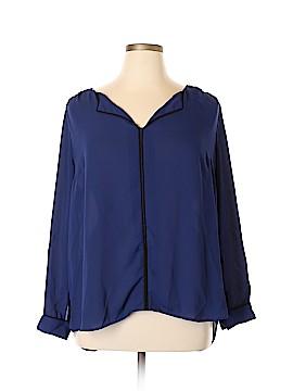ModCloth Long Sleeve Blouse Size 1X (Plus)