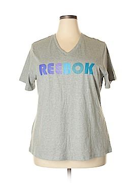 Reebok Short Sleeve T-Shirt Size 18 (Plus)