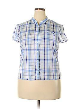 L.L.Bean Short Sleeve Button-Down Shirt Size 5X (Plus)