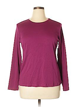 Christopher & Banks Long Sleeve T-Shirt Size XL (Petite)