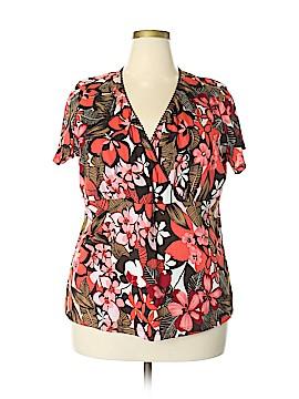 Fashion Bug Short Sleeve Top Size 22 - 24 (Plus)