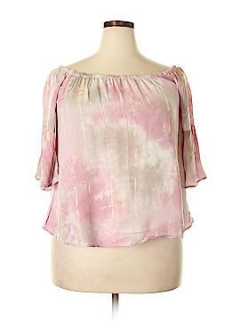 Hem & Thread 3/4 Sleeve Blouse Size L