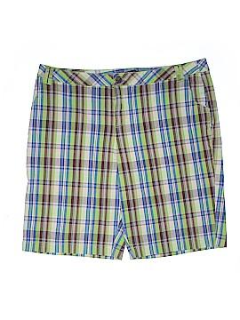 Lane Bryant Outlet Khaki Shorts Size 24 (Plus)