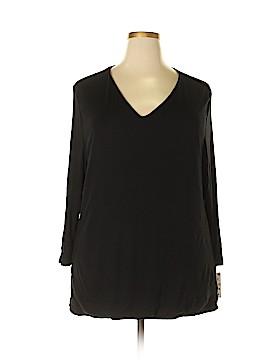 INC International Concepts 3/4 Sleeve T-Shirt Size 3X (Plus)