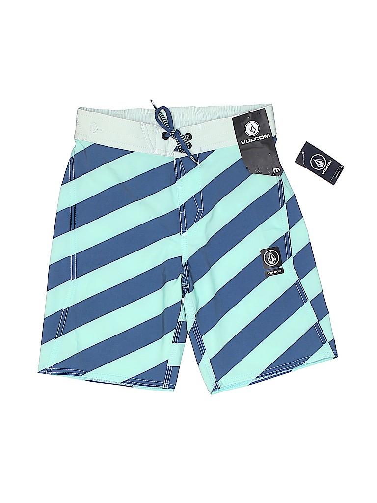 404d1658dc Volcom Stripes Blue Board Shorts Size 10 - 47% off | thredUP