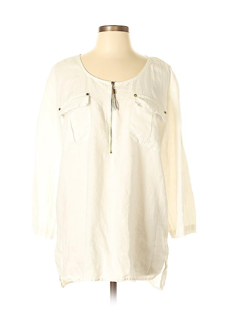 Ellen Tracy Women 3/4 Sleeve Top Size XL