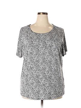 Jones New York Collection Short Sleeve T-Shirt Size 3X (Plus)