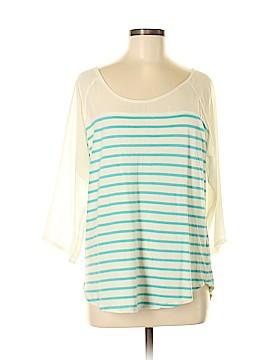 Lauren Conrad 3/4 Sleeve Top Size L