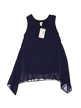 Sally Miller Sleeveless Blouse Size 7 - 8