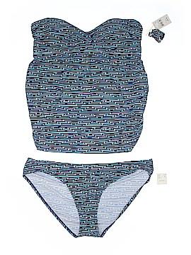 Beach Bump By Motherhood Two Piece Swimsuit Size XL (Maternity)