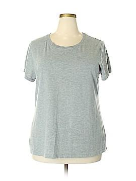 Danskin Now Short Sleeve T-Shirt Size 3X (Plus)