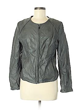 Alfani Faux Leather Jacket Size 8
