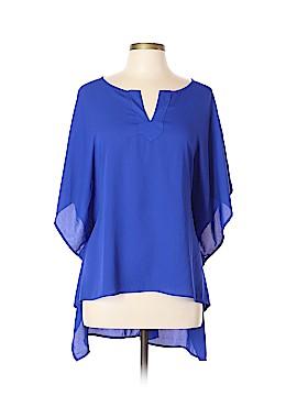 West Kei Short Sleeve Blouse Size L
