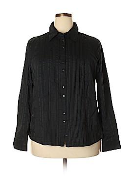 Covington Long Sleeve Button-Down Shirt Size 20 (Plus)