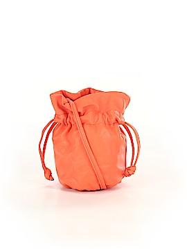 J. Crew Leather Bucket Bag One Size