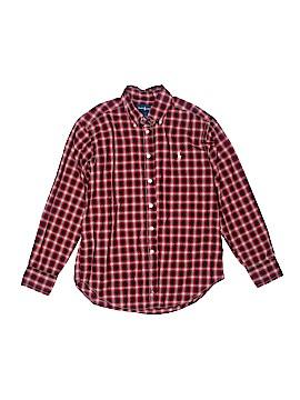 Ralph by Ralph Lauren Long Sleeve Button-Down Shirt Size 8