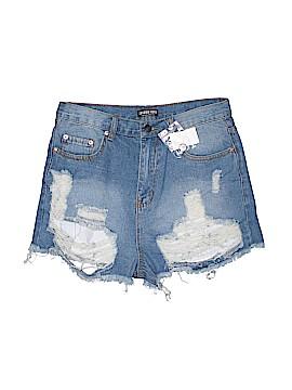 Fashion Nova Denim Shorts Size L